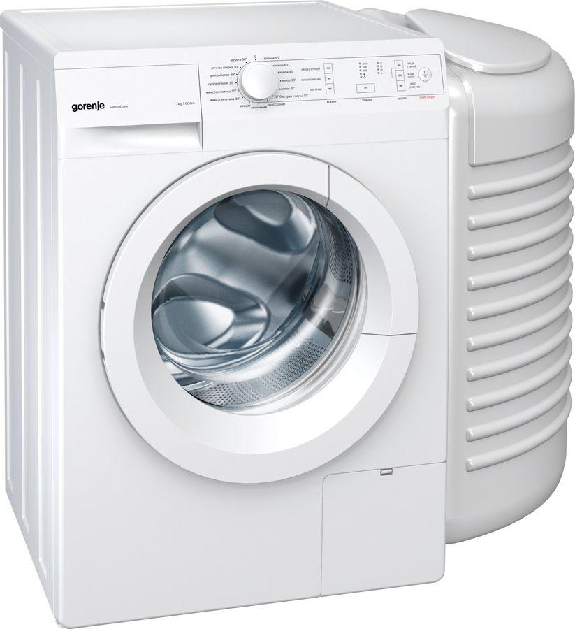 Стиральная машина GORENJE W72ZX1/R + PS PL95, фронтальная загрузка,  белый