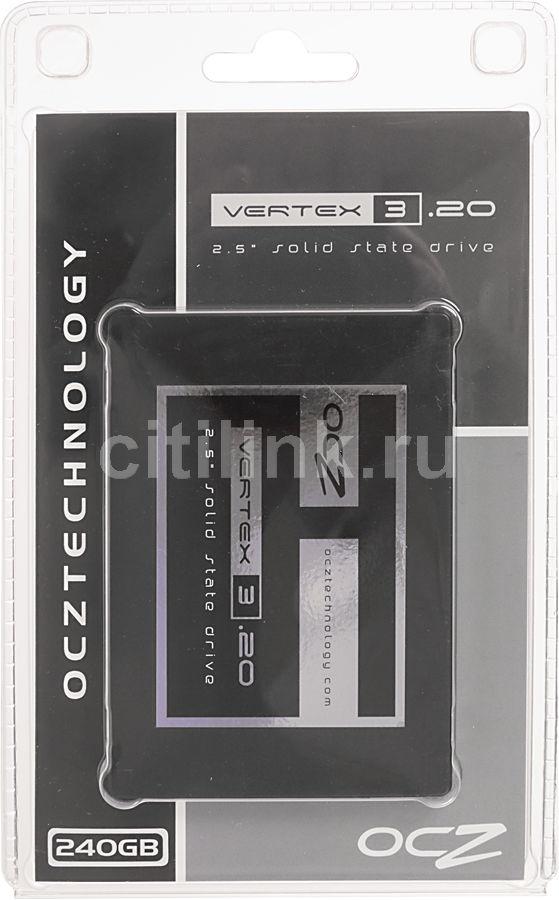 Накопитель SSD OCZ Vertex 3.20 VTX3-25SAT3-240G.20 240Гб, 2.5