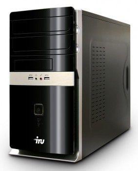 Компьютер  IRU Corp 319,  Intel  Core i3  3210,  DDR3 4Гб, 500Гб,  Intel HD Graphics 2500,  DVD-RW,  CR,  noOS,  черный