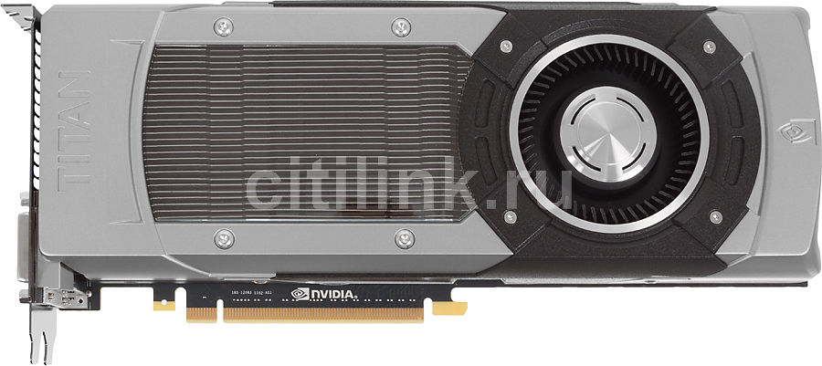 Видеокарта PALIT GeForce GTX TITAN,  6Гб, GDDR5, Ret