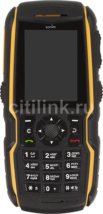 Мобильный телефон SONIM Force XP3300  черный/желтый