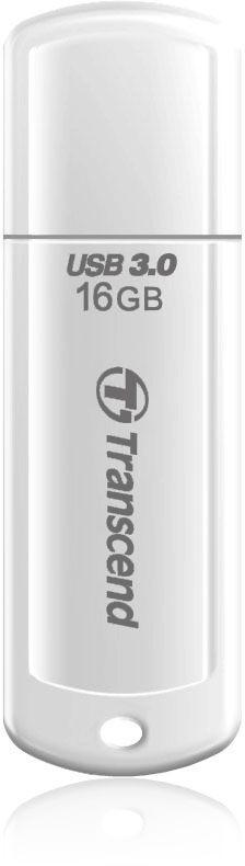 Флешка USB TRANSCEND Jetflash 730 16Гб, USB3.0, белый [ts16gjf730]