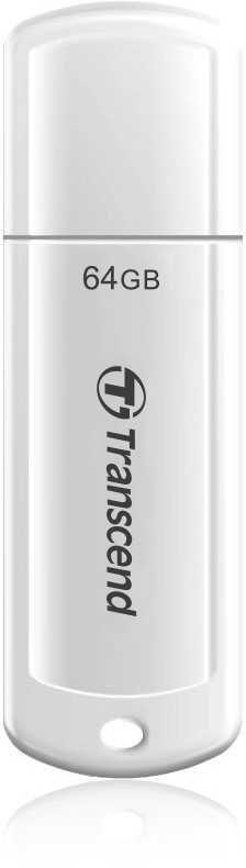 Флешка USB TRANSCEND Jetflash 730 64Гб, USB3.0, белый [ts64gjf730]