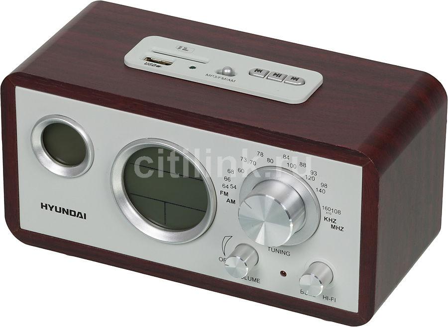 Радиоприемник HYUNDAI H-1611,  вишня