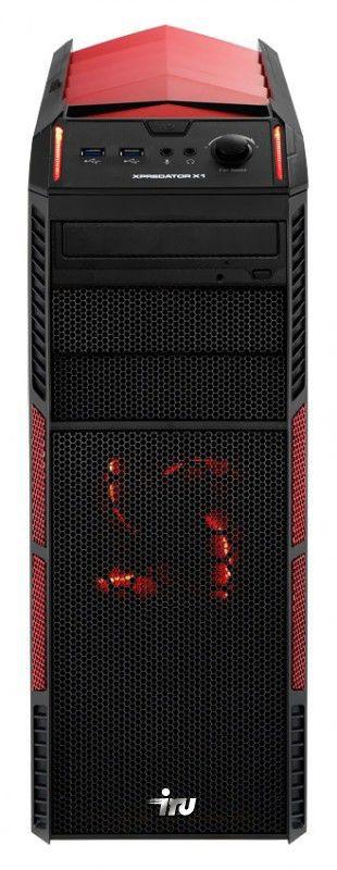 Компьютер  IRU Home 750,  Intel  Core i7  3820,  DDR3 16Гб, 2Тб,  AMD Radeon HD 7970 - 3072 Мб,  DVD-RW,  CR,  Free DOS,  черный