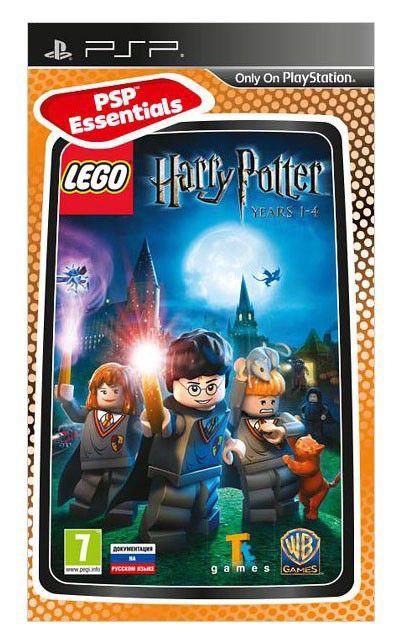 Игра SONY LEGO Harry Potter: Years 1-4 (Essentials) для  PSP Rus (документация)