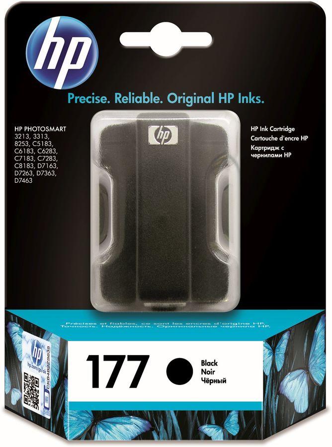 Картридж HP 177, черный [c8721he]