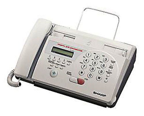 Факс SHARP FO55,  на термобумаге,  белый