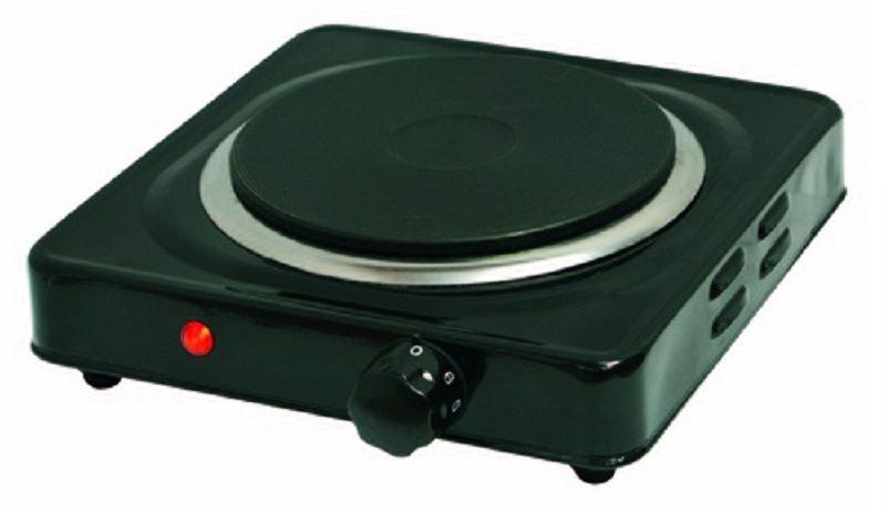 Электрическая плита SUPRA HS-101,  эмаль,  черный [1440]