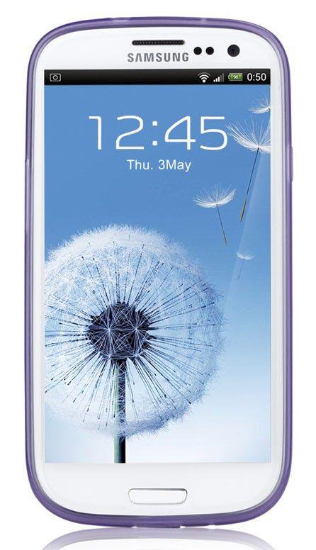 Чехол (клип-кейс) GGMM Pure-S, для Samsung Galaxy S III, фиолетовый [sx00506]