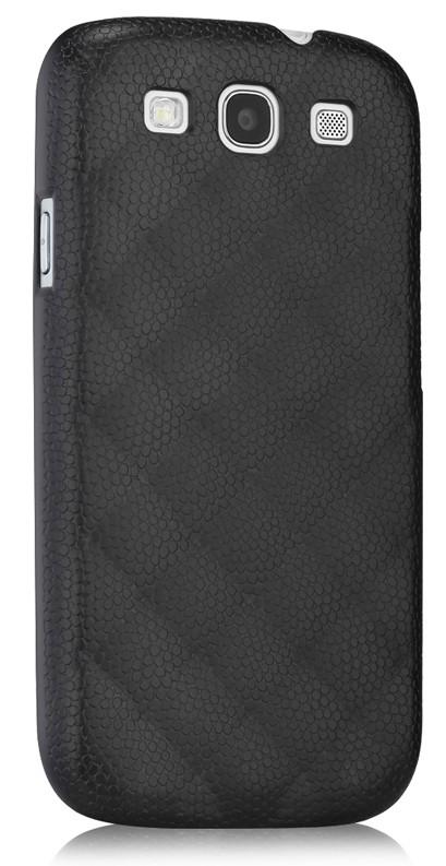 Чехол (клип-кейс) GGMM Diamond-S, для Samsung Galaxy S III, черный [sx01003]