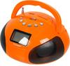 Аудиомагнитола ROLSEN RBM411OR,  оранжевый вид 2