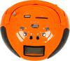 Аудиомагнитола ROLSEN RBM411OR,  оранжевый вид 4