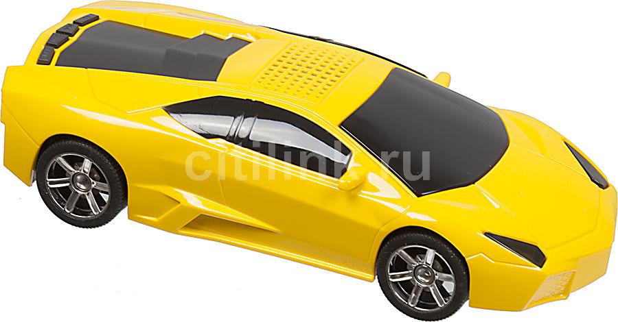 Аудиомагнитола ROLSEN RBM414,  желтый