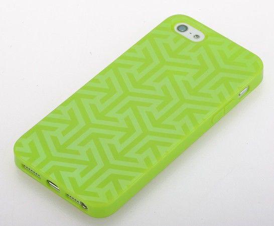 Чехол (клип-кейс) GGMM Pure-Ice, для Apple iPhone 5, зеленый [iph00608]