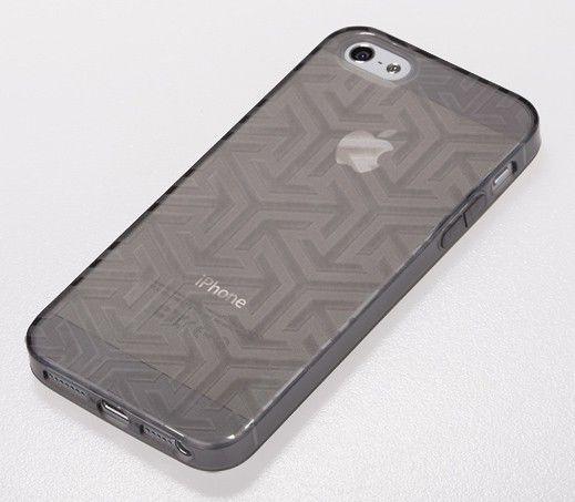 Чехол (клип-кейс) GGMM Ice, для Apple iPhone 5, черный [iph00610]