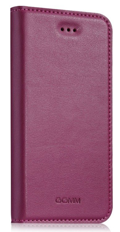 Чехол (флип-кейс) GGMM Kiss Mauve, iPh00805, для Apple iPhone 5, розовый