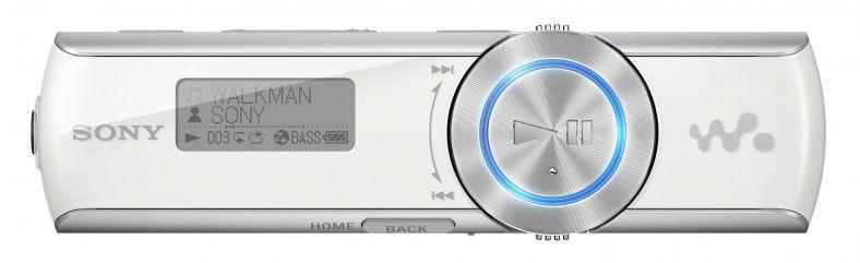MP3 плеер SONY NWZ-B172F flash 2Гб белый [nwzb172fw.cev]