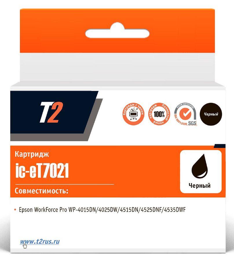 Картридж T2 C13T70214010 IC-ET7021,  черный