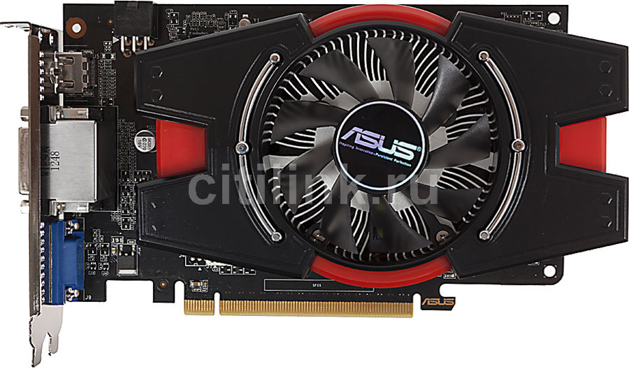 Видеокарта ASUS GTX650TI-PH-1GD5,  1Гб, GDDR5, Ret