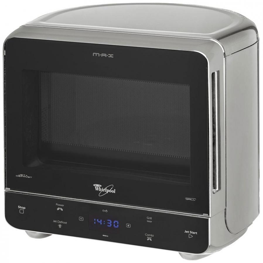 Микроволновая печь WHIRLPOOL MAX 36 SL, серебристый