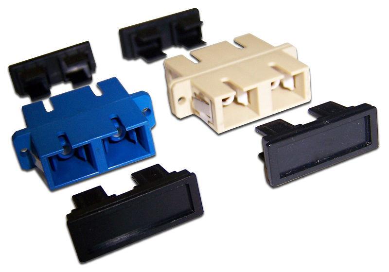 Адаптер проходной Lanmaster (TWT-2SC-AM-SM) SC duplex OS1/OS2 синий