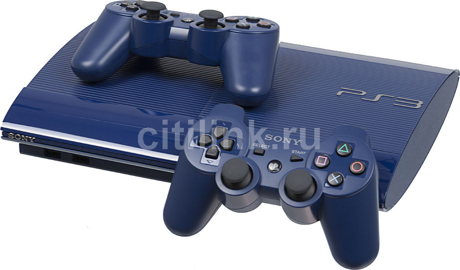 Игровая консоль SONY PlayStation 3 PS719270959, синий