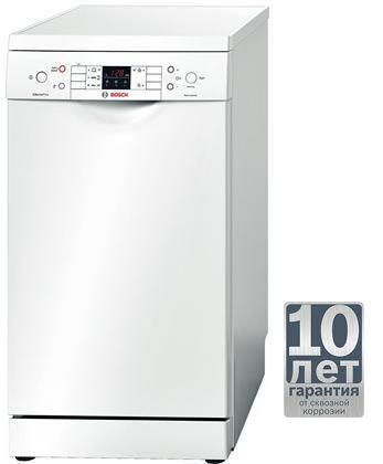 Посудомоечная машина BOSCH SPS53M52RU,  узкая, белая