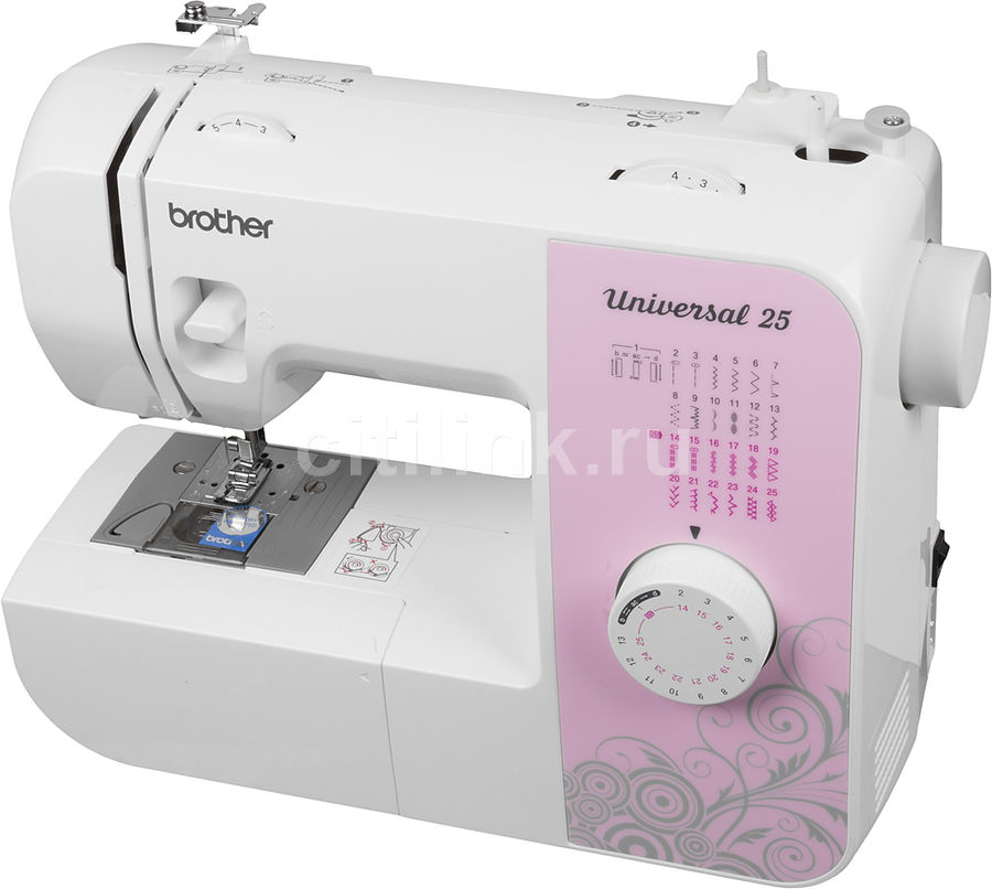 Швейная машина BROTHER Universal 25 белый