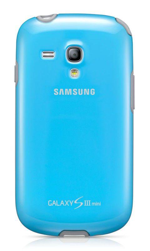 Чехол (клип-кейс) SAMSUNG EFC-1M7BLE, для Samsung Galaxy S III mini, голубой [efc-1m7blegstd]