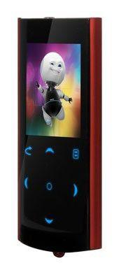 MP3 плеер EXPLAY C60 flash 4Гб красный