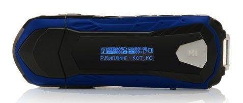 MP3 плеер EXPLAY L13 flash 4Гб голубой [4042381]