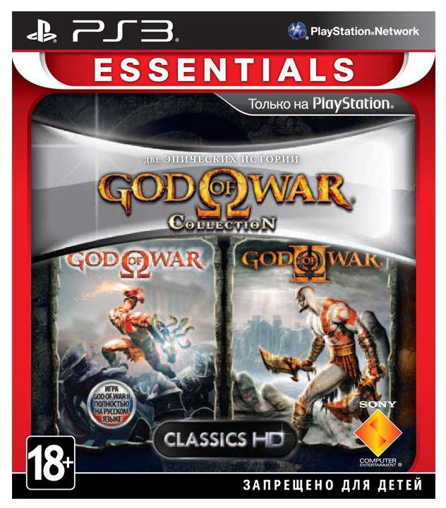 Игра SOFT CLUB God of War Collection 1 для  PlayStation3 Rus