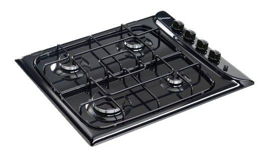 Варочная поверхность INDESIT PIM 640 AS,  независимая,  черный