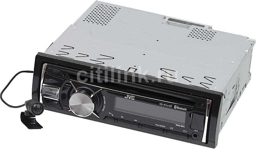Автомагнитола JVC KD-R741BTEY,  USB