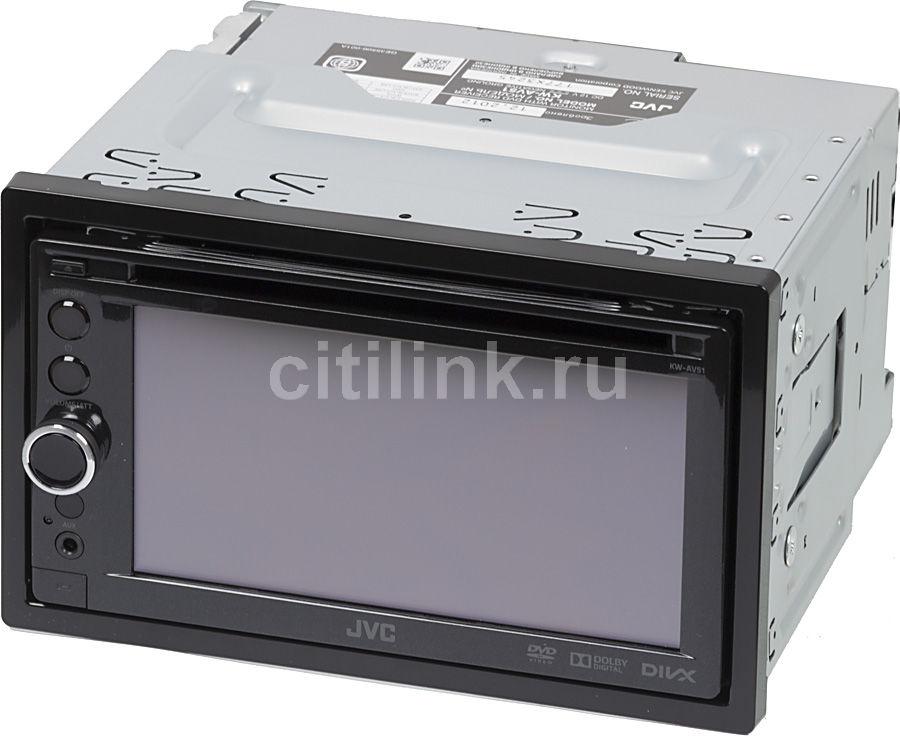 Автомагнитола JVC KW-AV51EE,  USB