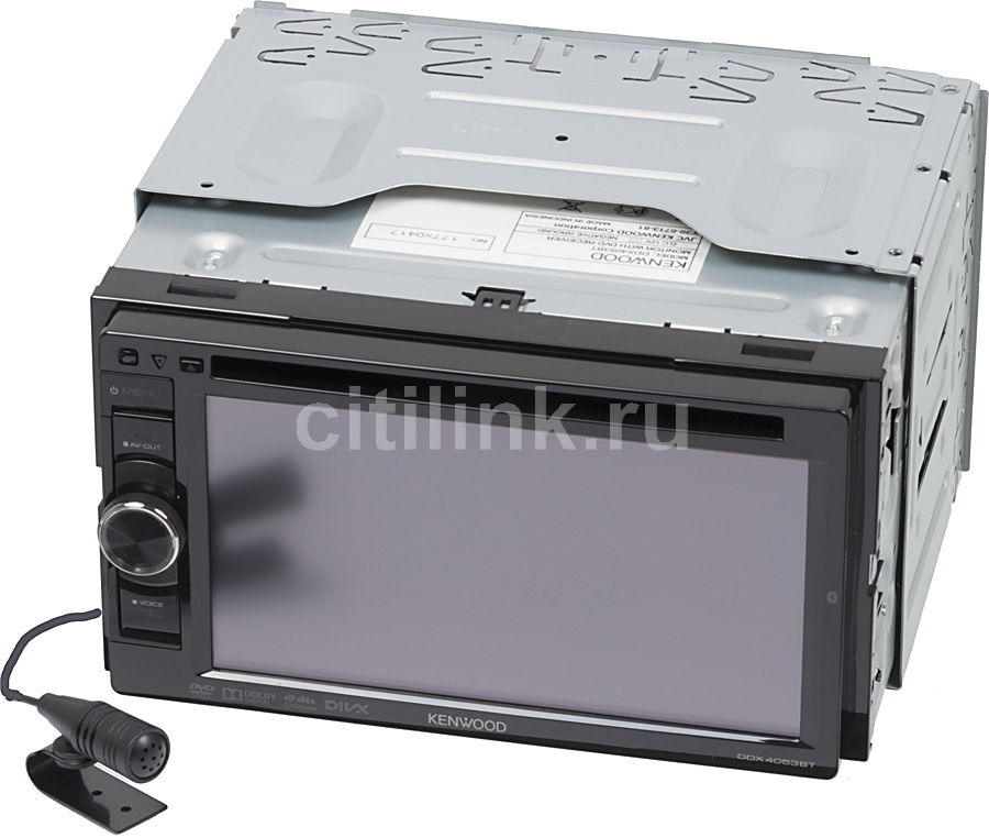 Автомагнитола KENWOOD DDX4053BT,  USB