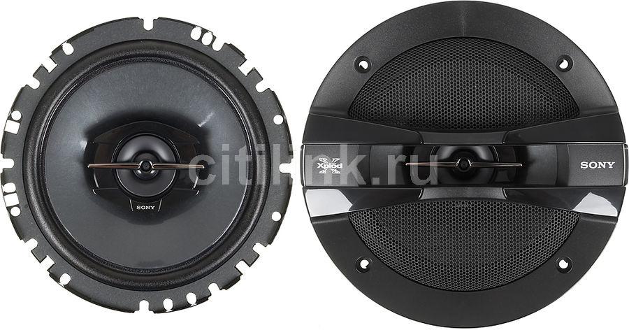 Колонки автомобильные SONY XS-GT1728F,  коаксиальные,  250Вт