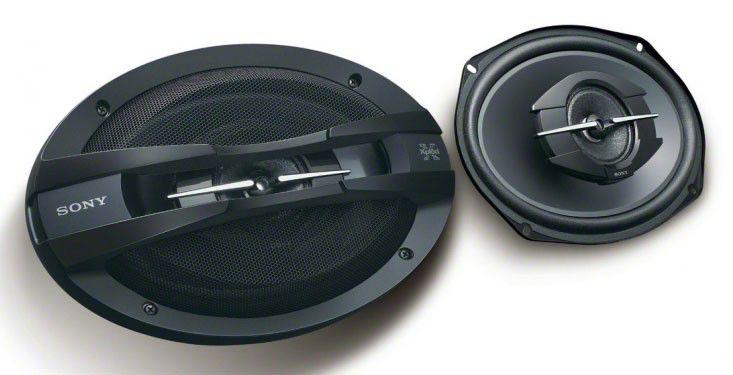 Колонки автомобильные SONY XS-GT6928F,  коаксиальные,  400Вт [xsgt6928f.eur]