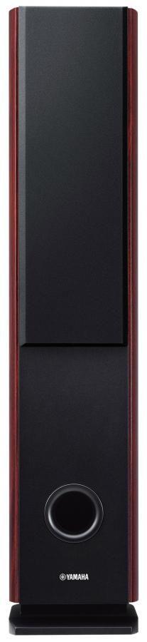 Акустическая система YAMAHA NS-F160,  моно,  темно-красный