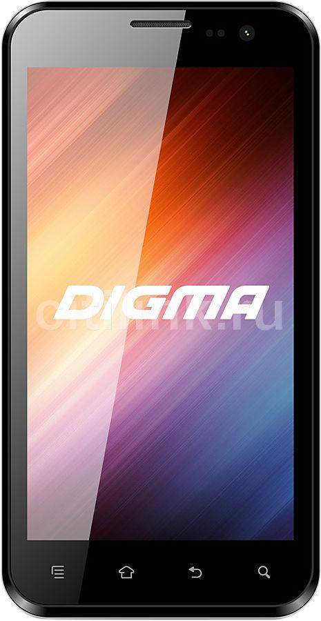 Смартфон DIGMA Linx 4.7 HD PS474S  черный