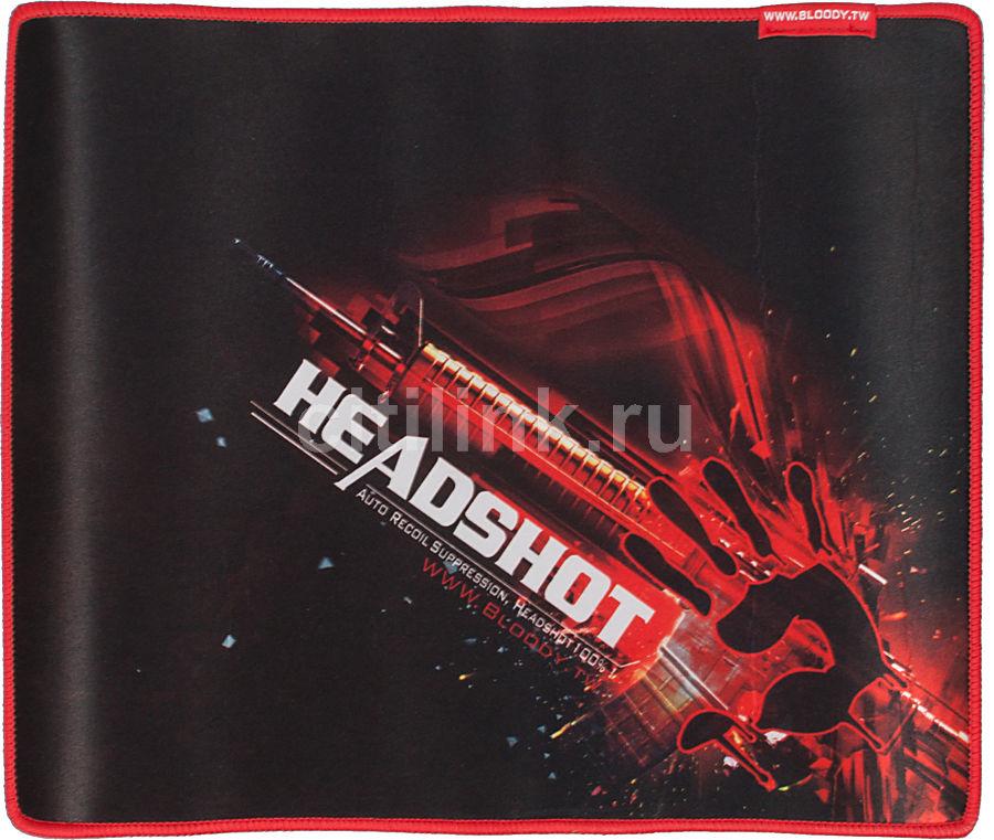 Коврик для мыши A4 Bloody B-071,  черный/рисунок