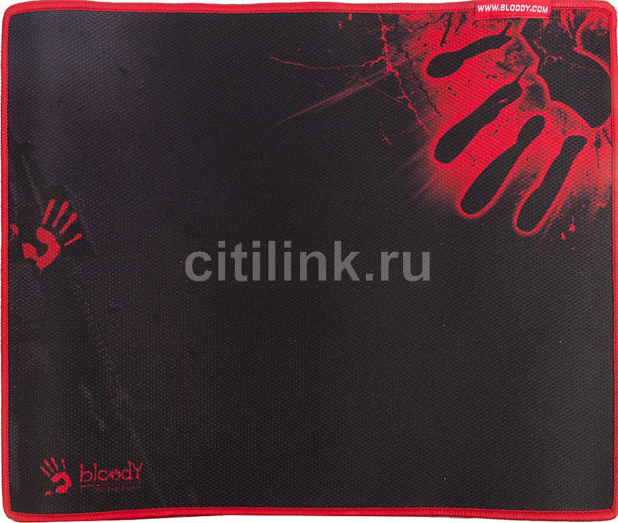 Коврик для мыши A4 Bloody B-081,  черный/рисунок