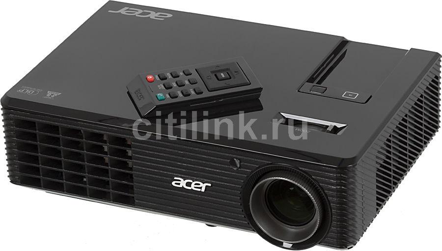 Проектор ACER X112 черный [mr.jg611.00h]