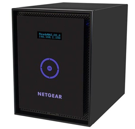 Сетевое хранилище NETGEAR RN316,  без дисков [rn31600-100eus]