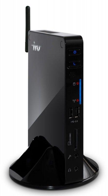 Неттоп  IRU 122,  Intel  Atom  D2500,  2Гб, 500Гб,   GMA 3600,  CR,  Windows 7 Professional