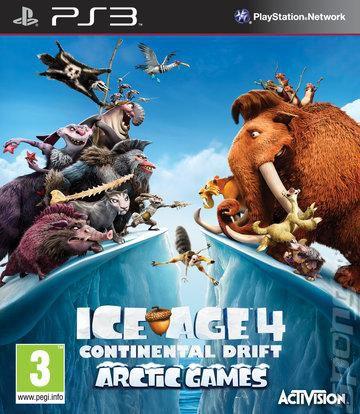 Игра SONY Ледниковый период 4: Континентальный дрейф. Арктические игры для  PlayStation3 Rus
