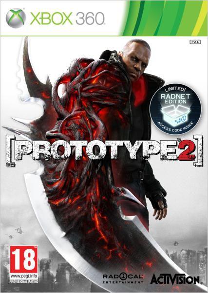 Игра NEW DISC Prototype 2 для  Xbox360 Rus