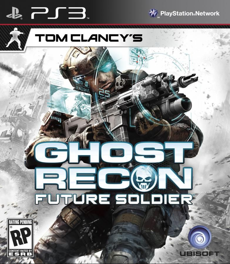 Игра NEW DISC Tom Clancy's Ghost Recon Future Soldier. Signature Edition для  PlayStation3 Rus