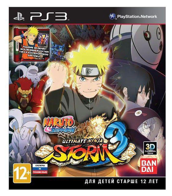 Игра SOFT CLUB Naruto Shippuden: Ultimate Ninja Storm 3 Day 1 Edition для  PlayStation3 RUS (субтитры)